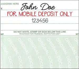 mobile deposit check back
